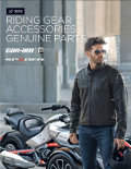 Can-Am Spyder Roadster Riding Gear & Accessories